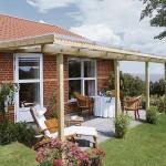 Überdachnung für die Terrasse